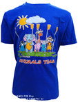 "Kinder T Shirt ""Animal Team"", blau"