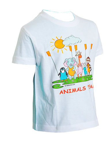 "T Shirt Kids ""Animals Team"""